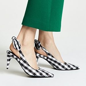 Jeffrey Campbell Gingham Pumps size 8 NEW
